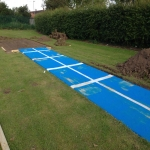 Synthetic Grass Running Track in Fen End 6