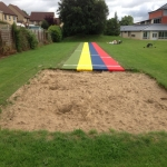 Synthetic Grass Running Track in Fen End 10