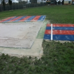 Synthetic Grass Running Track in Ashby-de-la-Zouch 1