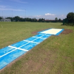 Synthetic Grass Running Track in Amalebra 10
