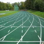 Synthetic Grass Running Track in Abertrinant 11