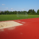 Synthetic Grass Running Track in Borgue 1
