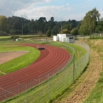 Synthetic Grass Running Track in Allenheads 2