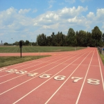 Synthetic Grass Running Track in Amalebra 1