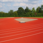 Synthetic Grass Running Track in Amalebra 9