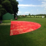 Synthetic Grass Running Track in Fen End 5