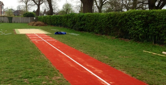 Compact Long Jump Pit in Abbeyhill