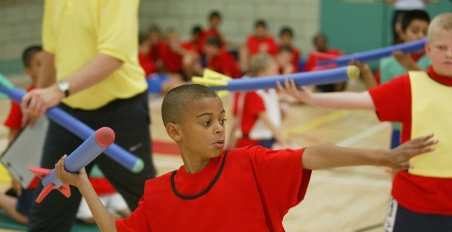 Athletic Equipment for Sports Halls in Derbyshire