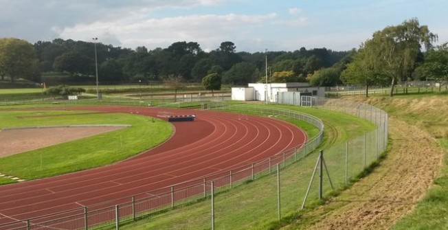 AGP Running Track Infield in Alston